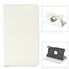 Protective 360 Degree Rotation PU Leather Case for Google Nexus 7 II - White
