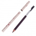Fashionable Water Resistant Brow Pencil / Brush - Brown