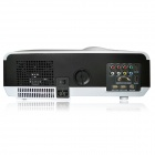 EJIALE EPW58H HD 1280 x 800 200W LED Proyector w / HDMI + USB + VGA + AV in / out + TV - Blanco + Negro