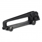Plastic Steel Gun Handle Mount w/ Sight for M4~M16 - Black