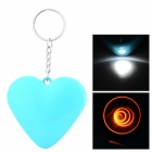 Cute Heart Style Portable USB Powered Electronic Cigarette Lighter - Blue