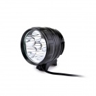 UltraFire D77-L2 6 x CREE XM-L2 T6 3-Mode 3600LM White Bike Light / Headlamp - Black (4 x 18650)