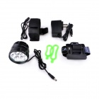 Ultrafire D77-L2 3-Mode 3600LM Blanc Bike Light / Phare w / 6 x CREE XM-L2 T6 - Noir (4 x 18650)
