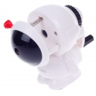M&G APS90649 Cute Astronaut Hand-Crank Pencil Sharpener - Black + White + Red