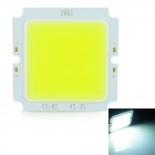 15W 1500lm 6000K COB LED White Light Board - Silver + Yellow (48-54V)