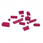 Enkay Universal Plugs Anti-poeira para Lenovo / HP / Dell / Acer / Asus Laptop - Deep Pink (13 PCS)