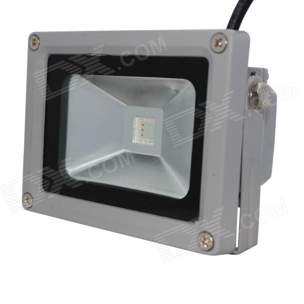 KPT 10W RGB Color-Changing Flood Light / Projection Lamp with Remote Controller - Gray (85~265V)