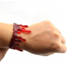 Blood Drip Special Effects Armband - Röd