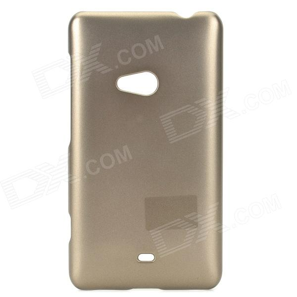 PUDINI WB-L625 Protective Plastic Back Case for Nokia Lumia 625 - Champagne pudini wb l625 protective plastic back case for nokia lumia 625 black