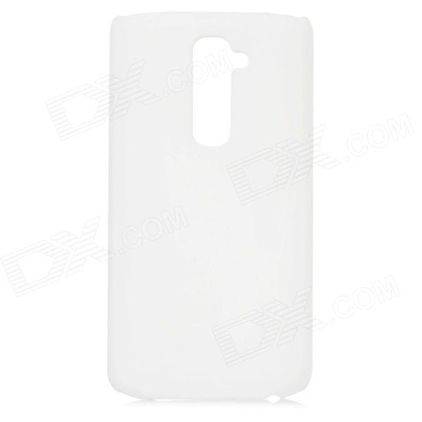 Protective PC Back Case for LG Optimus G2 - White