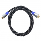 Pinguocb HDMI Male to Male Data Cable for TV / EVD + More - Black + Blue + Silver (150cm)