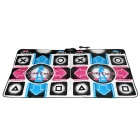 KSD SR713 Sports Thicken PVC + EVA + Sponge Double-Person USB Dance Pad - Multicolored