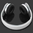 AT-BT802 Bluetooth V2.1 Stereo Headset Headphone for Mobile / Computer + More - White + Black + Grey