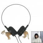 Personality Headphones - Black + Yellow + White (92cm-Cable / 3.5mm Plug)