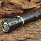 LusteFire DV-03 500lm Dimming White Diving Flashlight w/ CREE XM-L2 T6 - Black (1 x 18650)
