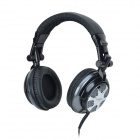 Cosonic CT-890 Super Bass Headband Stereo Headphone w/ Microphone - Black + Silver