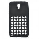 Protective Silicone Back Case for Samsung Galaxy Note 3 N9000 - Black
