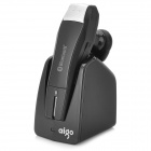 Aigo X3 Universal Bluetooth V4.0+ EDR Stereo Earphone for Samsung / iPhone + More - Black + Silver