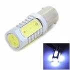 W-LGX1156-10W 1156 10W 6500K 900lm 5-COB LED White Light Car Foglight - Silver + Yellow (10~30V)