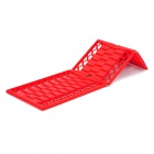 ShunWei SD-X001 Outdoor Car Sand / Snow Roadway Anti-Slip Escaper Folding Boards - Red (2 PCS)