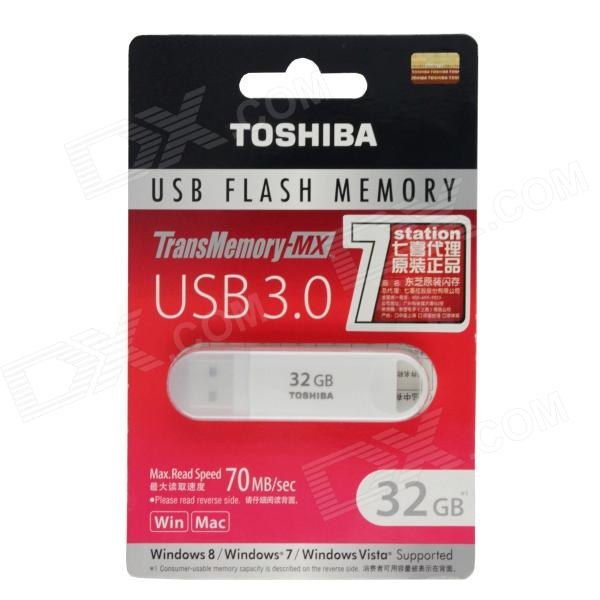 TOSHIBA TransMemory MX USB 3.0 Flash Drive Disk - White (32GB) tfb3094as fmx43p004r flyback transformer for toshiba rear projection tv