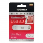 TOSHIBA TransMemory MX USB 3.0 Flash Drive Disk - White (32GB)