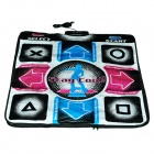 KSD CT-201 USB / AV Sports Thicken PVC + EVA + Sponge Double-Person Dance Pad - Multicolored