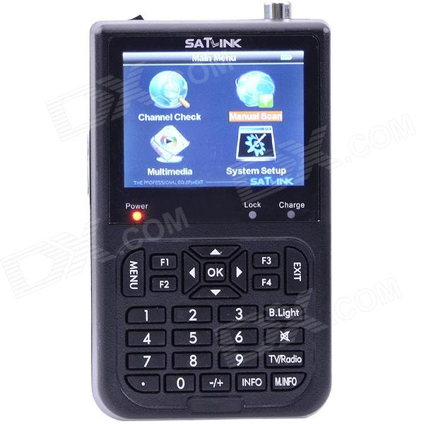 SATLINK WS-6915 Terrestrial Signal Finder DVB-T Digital Satellite Finder Meter original dvb t satlink ws 6990 terrestrial finder 1 route dvb t modulator av hdmi ws 6990 satlink 6990 digital meter finder