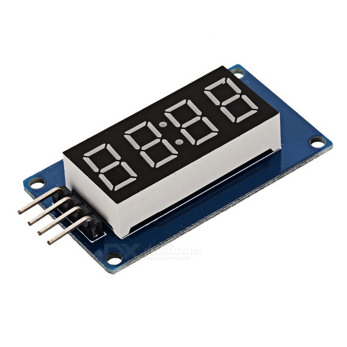 Quot led digit display module for arduino black