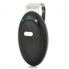 SY-HF-810 Bluetooth v4.0 + A2DP Intelligent Car Hands-Free Kit - Black + Silver