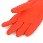 Y-035 Waterproof Cleaning Rubber + Cotton Two-Section Sleeve Gloves