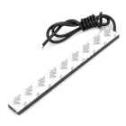 Waterproof 6W 220lm 60-LED Car Daytime Running Light Strip Bar (14cm)