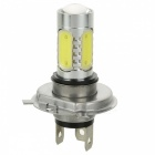 W-LGXH4-10W 10W 6500K 900lm 5-LED White Light Car Foglight / Headlamp - Silver + Yellow (10~30V)