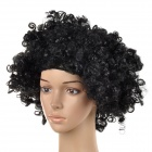 Fashionable Unique Synthetic Fibre Afro Wig for Halloween / Party - Black