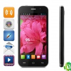 "Simple SMTK6589 Quad-Core Android 4.2 TD-SCDMA Bar Phone w/ 4.7"" Screen, Wi-Fi and Bluetooth - Black"