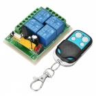AFSC03 12V 4-CH Multifunction Remote Switch + 4-Key Remote Controller
