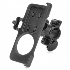 360 Degree Rotation Plastic Bicycle Swivel Mount Holder for Nokia Lumia 1020 - Black