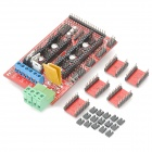 RAMPS V1.4 RepRap 3D Printer Expansion Board + Motor Driver Module - Red + Black