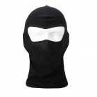 Qinglonglin Outdoor Multi-function Cycling Head Mask Scraf Cap - Black