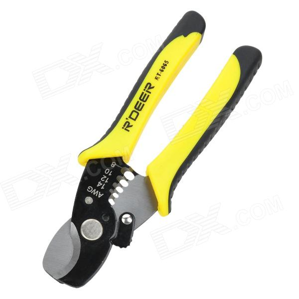 R'Deer RT-6065 Multifunction Carbon Steel Wire Sripper 5pcsfree shipping pg 5 cable knife wire stripper for longitudinal circular stripping comm pvc lv mv cablesmax 25mm good quality