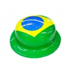 The Brazil's National Flag Hat - Green