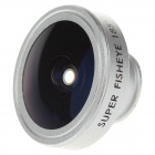SKINA CP-18 Universal 185 Degree Fisheye Lens for Mobile Phone - Silver