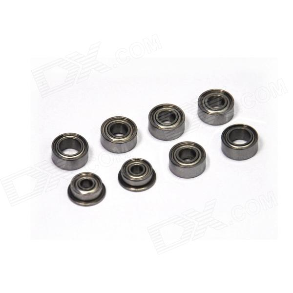 Walkera HM-Master CP-Z-19 Bearing Set for Master CP R/C Helicopter - Silver Grey (8 PCS)