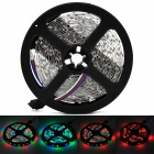 36W 1200lm 300 SMD 3528 LED RGB Light Stripe w/ Mini Manual Controller - Black + White