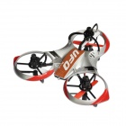 Huawei 3220 4CH 2.4G R/C Mini UFO Aircraft w/ 6-Axis gyro - Red+Silver
