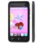 "TIMMY E128 MTK6572 Duad-Core Android 4.2 GSM Bar Phone w/ 4.5"", 512MB RAM, 4GB ROM, Dual-SIM - Black"