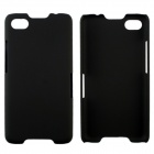 Fashionable Super Thin Protective Glaze PC Back Case for BlackBerry Z30 -  Black