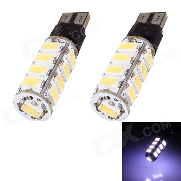 T10 8.5W 408lm 17 x SMD 5630 LED White Light Flashing Car Turn Signal Corner Parking Lamp (DC 12V) 1056 auto bulbs py21w s25 led 3014 smd car tail bulb turn signal auto reverse lamp daytime running light amber white yellow