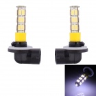 881 12.5W 600lm 25-SMD 5630 LED Cool White Car Fog Light - (12V / 2 PCS)