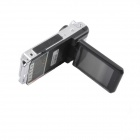 "AFANV P900B 2.5"" TFT LCD 5.0MP 180 Degree Rotatable Wide Angle Car DVR - Black"